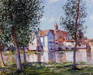 Alfred Sisley - Mehr t sur loing