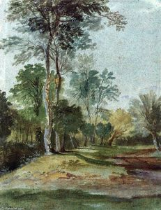 Anthony Van Dyck - allee in der land