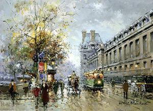 Antoine Blanchard (Marcel Masson) - Porte Str . Denis induced