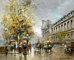 Antoine Blanchard (Marcel Masson) - Porte Str . Denis induced ( 8 )