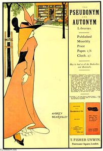 Aubrey Vincent Beardsley - Werbeplakat für The Yellow Book