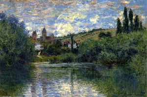 Claude Monet - Vetheuil
