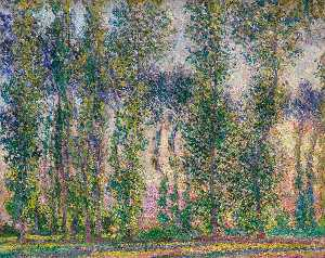 Claude Monet - Pappeln bei Giverny