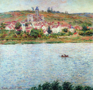 Claude Monet - Vetheuil, Morgen Effect