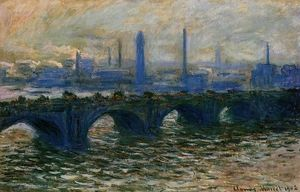 Claude Monet - Waterloo-Brücke