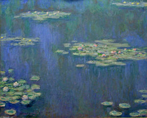Claude Monet - Seerosen 16