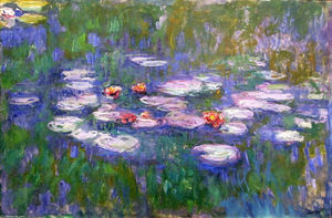 Claude Monet - Seerosen 62