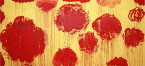 Cy Twombly - Untitled (Peonias Serie)