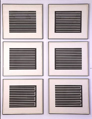 Six Aquatints, 1980 von Donald Judd (1928-1994, United States)