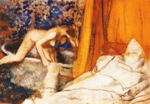 Edgar Degas - der bad