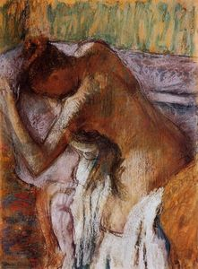 Edgar Degas - Nach dem Bad 12