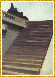 Edward Hopper - Stepsin Paris bekannt