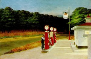 Edward Hopper - Benzin