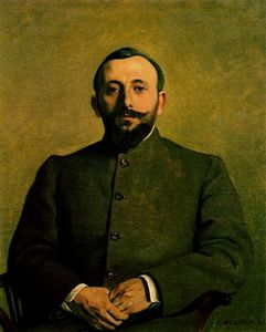 Felix Vallotton - Alfred Athis (Pseudonym Alfred Natanson)