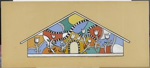 Fernand Leger - Church Sancellemoz Assy