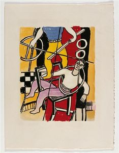Fernand Leger - -The album --Circus--- ( 17 )