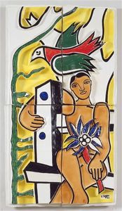 Fernand Leger - kinder in der vogel
