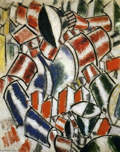 Fernand Leger - Die Sitted Woman