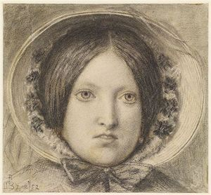 Ford Madox Brown - Emma Hügel