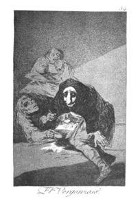 der schlaf der vernunft gebiert ungeheuer aquatinta von francisco de goya 1746 1828 spain. Black Bedroom Furniture Sets. Home Design Ideas