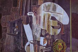 Georges Braque - der studio ( III )
