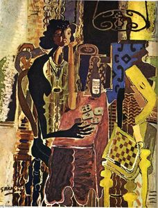Georges Braque - Die Patience