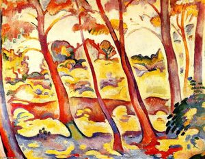 Georges Braque - Landschaft am La Ciotat