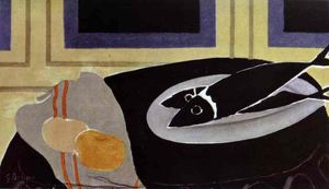 Georges Braque - Die Black Fish