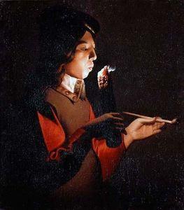 Georges De La Tour - Raucher