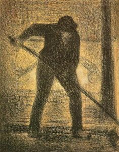 Georges Pierre Seurat - Der Garbage Picker