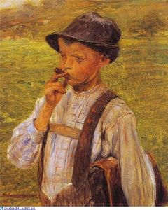 Georgios Jakobides - Boy Smoking