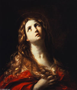 Reni Guido (Le Guide) - Magdalene in Reue