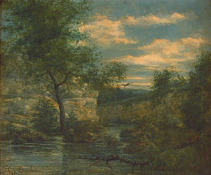 Gustave Courbet - Flussufer