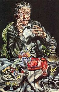 Ivan Albright - SelfPortraitDrinking