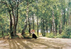 Ivan Ivanovich Shishkin - Am Summer Cottage