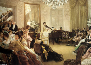 James Jacques Joseph Tissot - still der  konzert