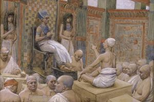 James Jacques Joseph Tissot - Joseph interpretiert Pharaos Traum