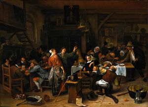 Jan Steen - Prince`s tag