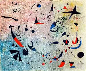 Joan Miro - Konstellation : der morgen stern
