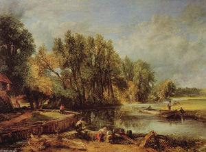 John Constable - Stratford-Mühle