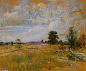 John Henry Twachtman - Connecticut Landschaft