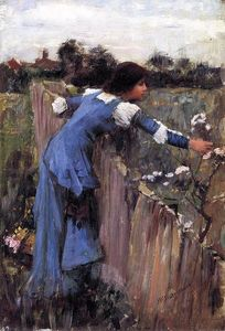 John William Waterhouse - The Flower Picker