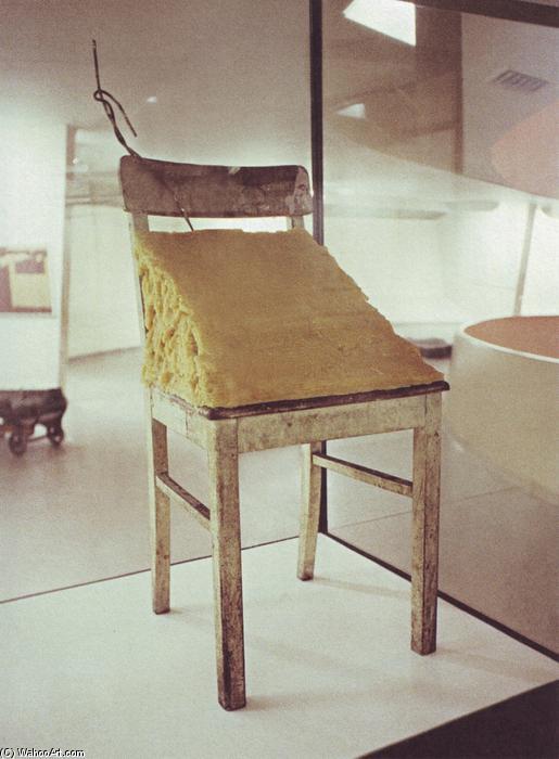fett stuhl 1964 von joseph beuys 1921 1986 germany. Black Bedroom Furniture Sets. Home Design Ideas