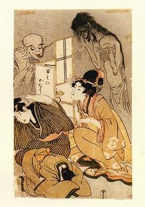 Kitagawa Utamaro - One Hundred Stories von Dämonen und Geister