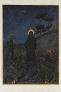Limbourg Brothers - Christ in Gethsemane