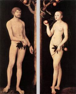 Lucas Cranach The Elder - adam und eva