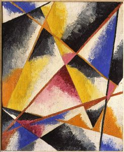 Lyubov Sergeyevna Popova - Untitled Kompositionen