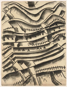 Man Ray - Ridgefield Landschaft