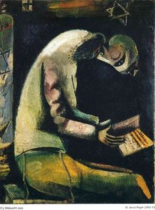 Marc Chagall - Jude Prayer