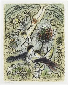 Marc Chagall - a himmel